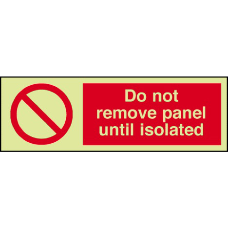 General Prohibitive Signs