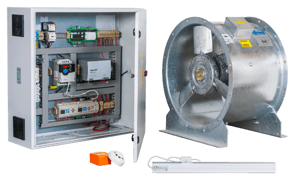 Fire, Smoke & Control Dampers