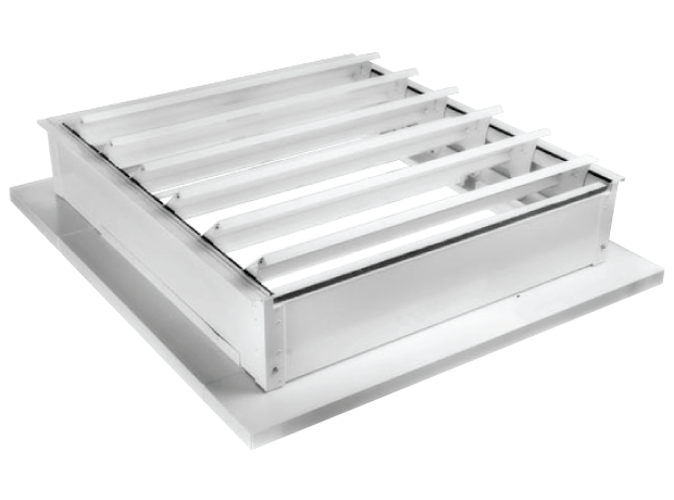 Louvered Roof Smoke Vents