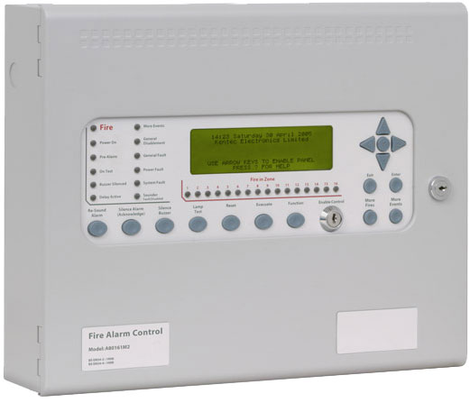 Kentec Analogue Addressable Fire Alarm Panels - Syncro AS