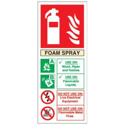 Foam spray