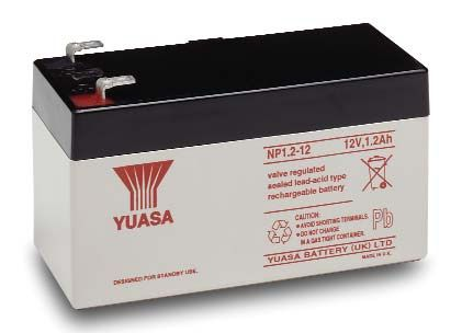 Yuasa NP Battery 12V 1.2AH