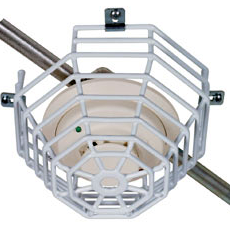 STI Surface Mount Steel Cage Protector 175mm x 115mm Vandal Cage for Smoke, Fire and CO Detectors