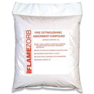 Flamezorb Absorbent Compound