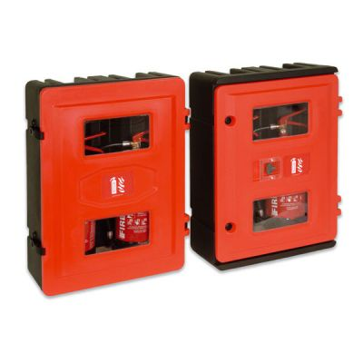 Double Fire Extinguisher Cabinets