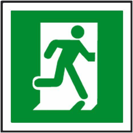 Running Man Symbol Running Right