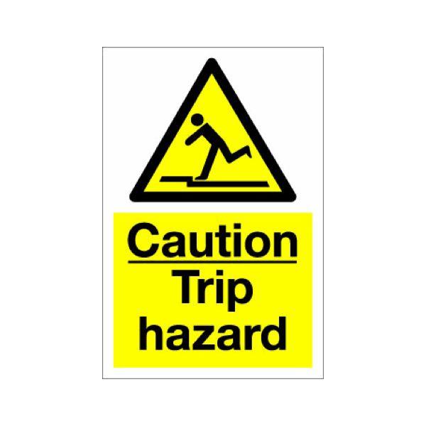 Caution trip hazard  200mmx300mm