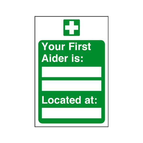 Your first aider is:
