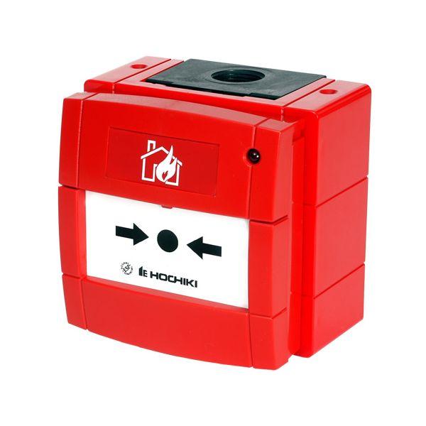 Hochiki ESP Analogue Addressable Weatherproof Manual Call point & Isolator HCP-W(SCI)