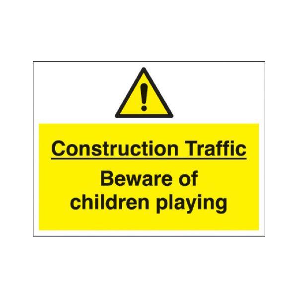 Construction traffic beware....