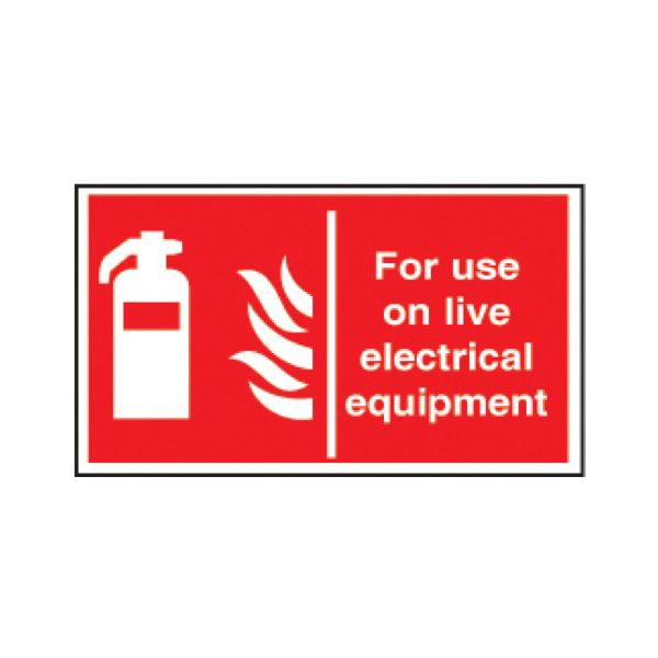For use on live electrical equipment