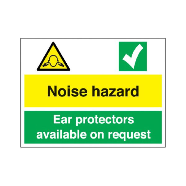 Noise hazard - ear protectors available on request