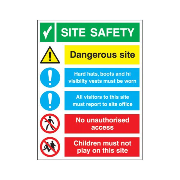 Site safety construction