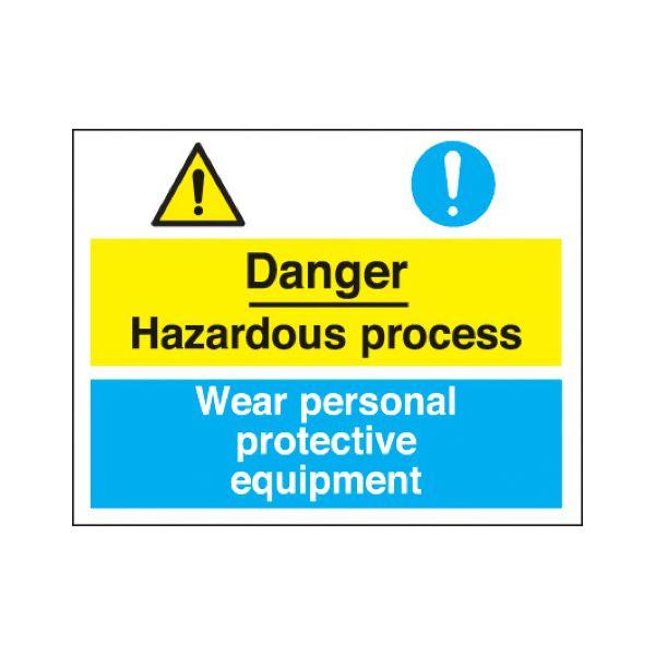 Danger hazardous/protective