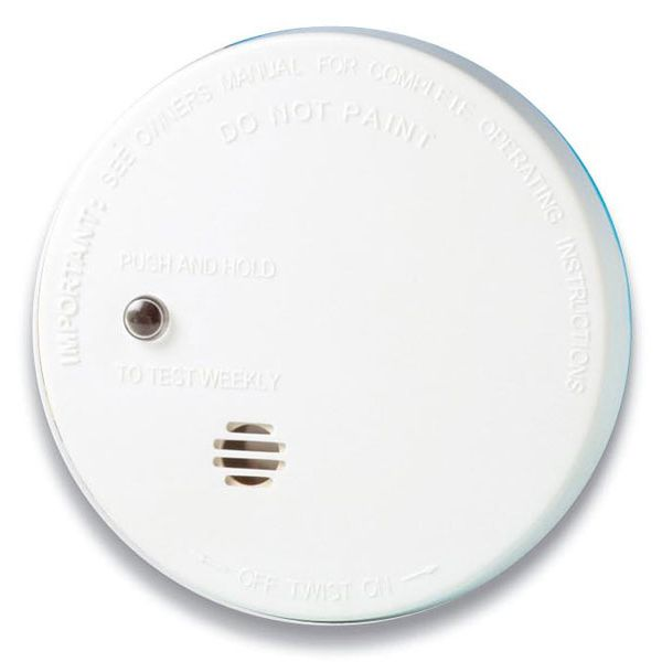 9V Battery Operated Micro Ionisation Smoke Alarm - Kidde