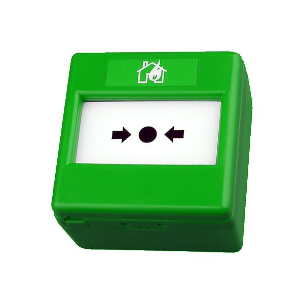 Fulleon Green Emergency Door Release Surface Call Point