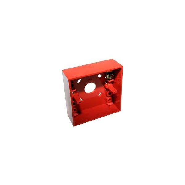 Hochiki Call Point Surface Mounting Box Red SR-1T