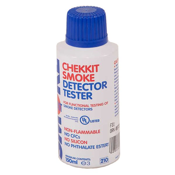Chekkit Smoke Detector Tester Spray