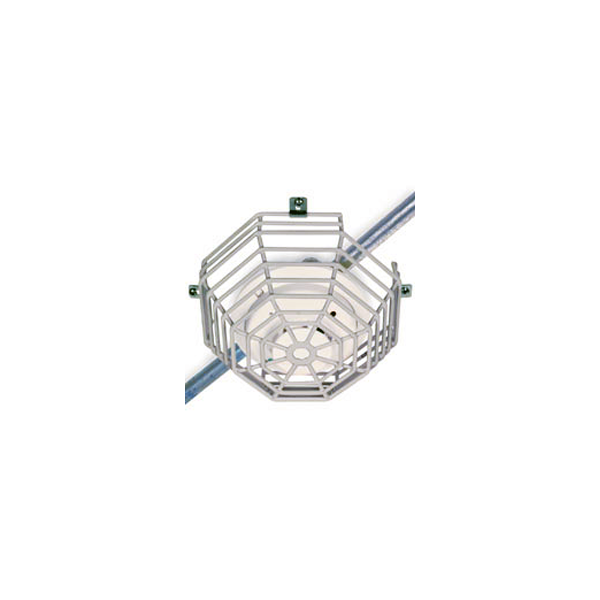 STI Surface Mount Steel Cage Protector 215mm x 108mm Vandal Cage for Smoke, Fire and CO Detectors