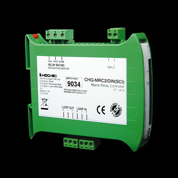 Hochiki DIN Mains Relay Controller CHQ-MRC2/DIN(SCI)