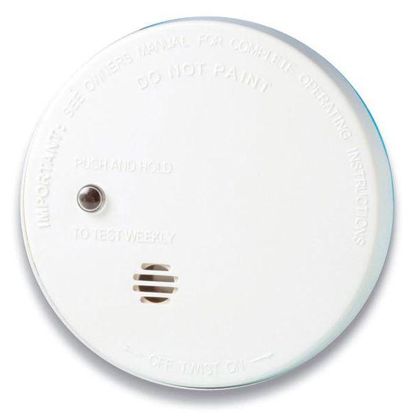 9V Battery Operated Micro Ionisation Smoke Alarm - Kidde