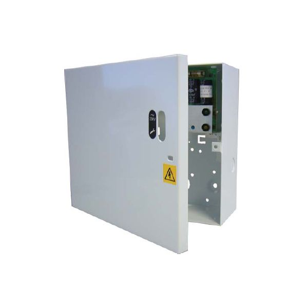 Elmdene 5 Amp Power Supply 12 Volt DC Fully Monitored with Fault O/P