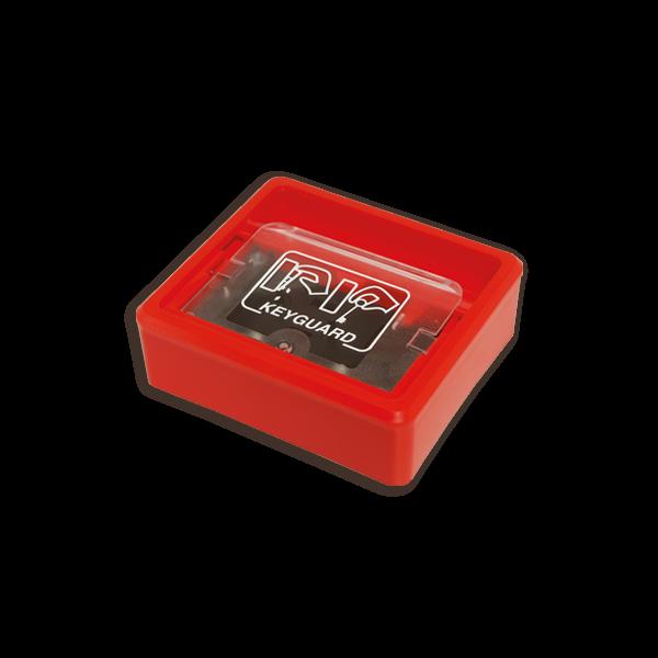 KeyGuard Key Box With Frangible Plastic Lid & Integral Battery Powered Alarm
