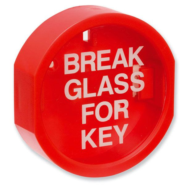 Plastic Fronted Key Box