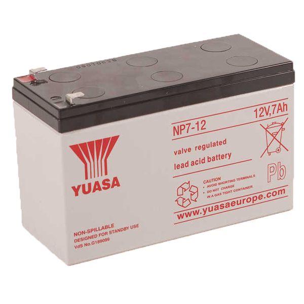 Yuasa Yucel Battery 12V 7AH
