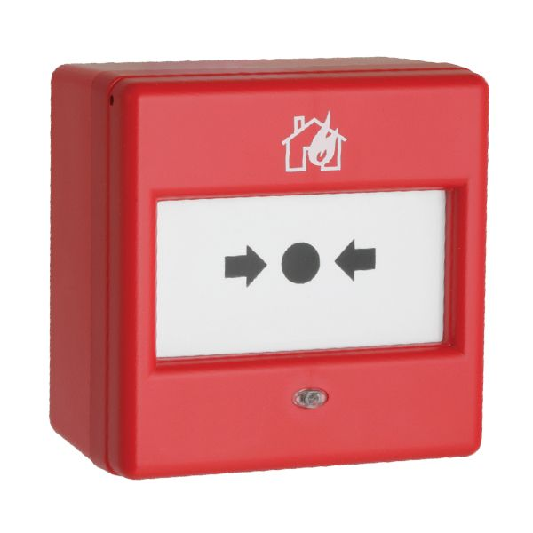Fulleon 240V Red Surface Fire Alarm Call Point
