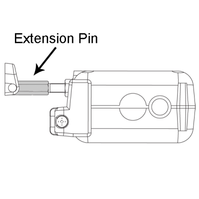 TOPP ACK4 Actuator Chain Extension Pins