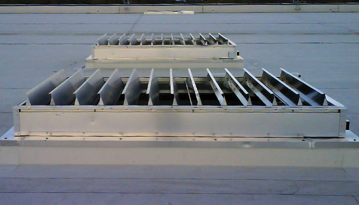 What is an automatic opening vent?