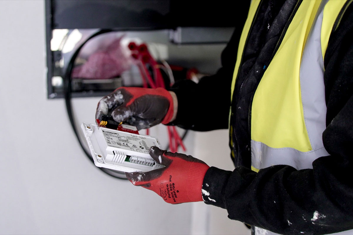 Installation of Fire Safety System & Components